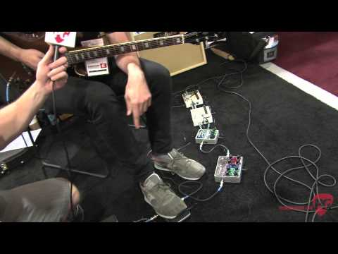 Summer NAMM '12 - Electro-Harmonix Talking Pedal & Tone Tattoo Demos