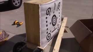 getlinkyoutube.com-How to Make a Portable Third Hand Archery Target