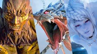 getlinkyoutube.com-Final Fantasy XV All Summons