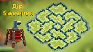getlinkyoutube.com-Clash of clans - Town hall 9 (Th9) Farming base [Dark Elixir] with AIR SWEEPER Speed build