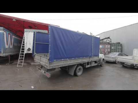 Сдвижной механизм крыши тента на автомобиль «ГАЗ-Валдай», 4 5 м