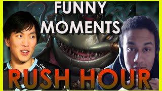 getlinkyoutube.com-Tahm Kench and Rush Hour - Funny moments