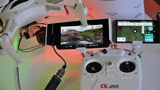 getlinkyoutube.com-CHEERSON CX20 QuadCopter - Mods For 6 Mile Flights - [Telemetry, OSD, FPV, Battery, Gimbal]