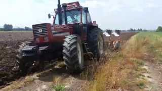 getlinkyoutube.com-Fiatagri 180-90+quadrivomero moro warrior 24q