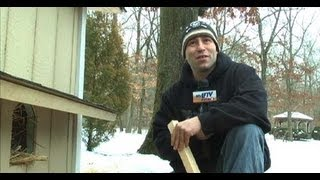 getlinkyoutube.com-Guardians of Rescue build a safe and warm Cat Shelter in Middle Island, NY