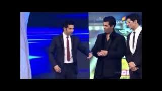 getlinkyoutube.com-Sidharth, Varun, and Karan at Screen Awards FULL