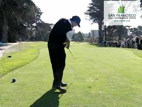 Adam Scott DL Slow Motion Golf Swing Video 2009 Presidents Cup (Blocked Right)