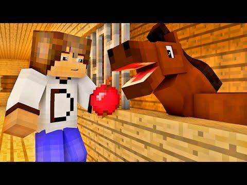 Minecraft - Industrial Craft: Casa do Cavalo