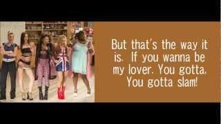 getlinkyoutube.com-Wannabe - Glee [Lyrics]