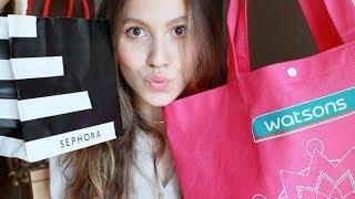 Kozmetik Alışverişi! (YSL, MAC, Sephora, Watsons...)