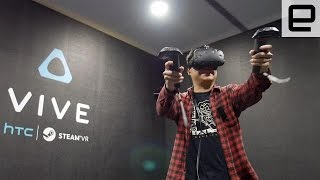 HTC Vive VR Games Got My Adrenaline Pumping