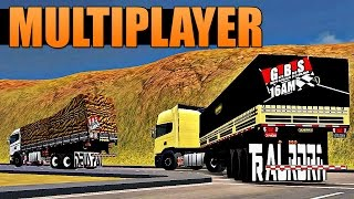 getlinkyoutube.com-Grand Truck Simulator Multiplayer - Caminhoneiros da Madrugada