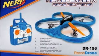 getlinkyoutube.com-Nerf Recon Drones  Part 2 - Air Defender and Recon Drone, HD Streaming