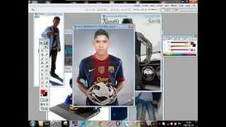 getlinkyoutube.com-طريقة عمل صورة خاص بك في Photoshop سهلة  جدآآآ معاا الشرح