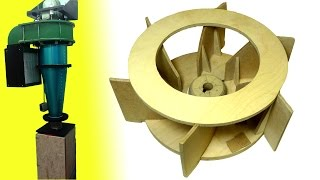 getlinkyoutube.com-Homemade dust collector upgrades (Part 1): New impeller