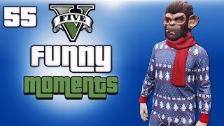 getlinkyoutube.com-GTA 5 Next Gen Funny Moments Ep. 55 (Christmas DLC, Random Lobbies, Snowball Fight)