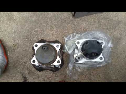 How to Replace a Hub Assembly on 05 Scion Xb