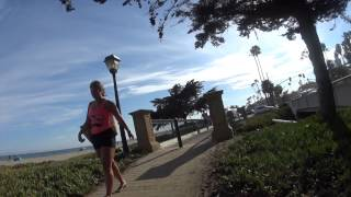 In and Around Santa Barbara and the Beach on My Brompton Bike