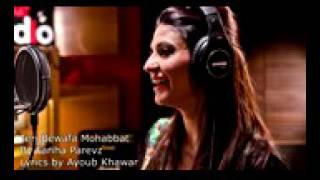 Teri Bewafa Mohabbat   FAREEHA PERVIZ  SONG