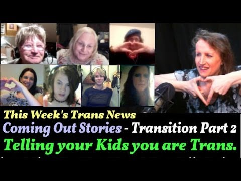 Transgender Zone VLOG Episode #25 Oct 28th, 2013  - Telling your Children you are transgender.