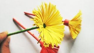 Origami Flower Very Easy and Simple | TCraft