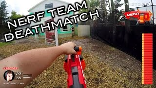 getlinkyoutube.com-Nerf meets Call of Duty: Team Deathmatch | First Person on Real Life Nuketown!