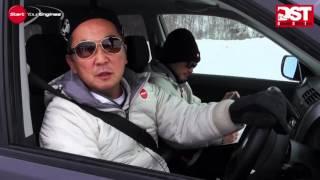 getlinkyoutube.com-【DST#Snow_01】スバル・フォレスター2.0XT vs 三菱アウトランダー24G vs スズキ・エスクードXG