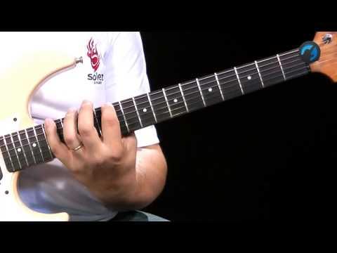 Arpejo e Sweep - aula t�cnica de guitarra