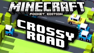 getlinkyoutube.com-CROSSY ROAD IN MCPE!!! - Crossy Road Themed Parkour - Minecraft Pocket Edition