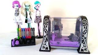 getlinkyoutube.com-Monster Maker Printer Review Part 2 - Monster High