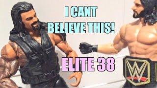 getlinkyoutube.com-WWE ACTION INSIDER: Roman Reigns ELITE Series 38 Mattel Wrestling Figure Review