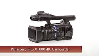 getlinkyoutube.com-First Look: Panasonic HC-X1000 4K Camcorder
