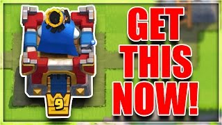 "getlinkyoutube.com-NEW CUSTOMIZATION FEATURE! | Clash Royale NEW ""RED"" Update!"