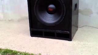 getlinkyoutube.com-Subwoofer Allien difuzor 15* inch (40cm)