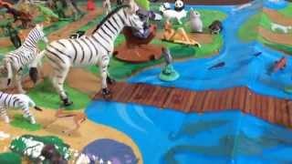 getlinkyoutube.com-【アニア】アニアレジャーシートで動物園🎶②