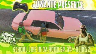 getlinkyoutube.com-GTA5 School Life In Da Hood Ep. 34 - Bling 2