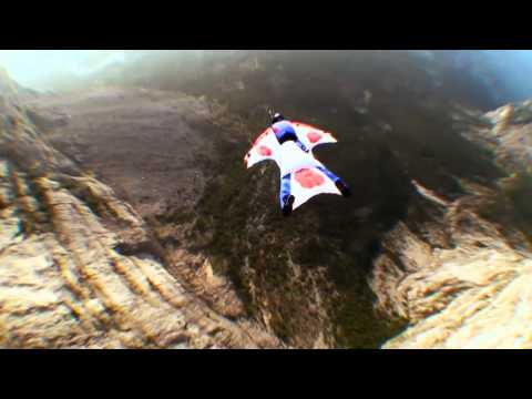 Professional Wingsuit Extreme Proximity BASE Jump - Jump4Heroes Extreme Wingsuit Flying