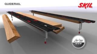getlinkyoutube.com-Skil rail de guidage: jamais la coupe en ligne droite n'a été aussi simple