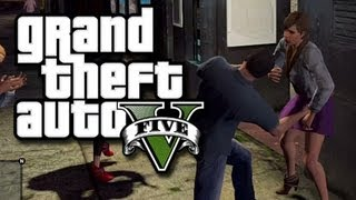 getlinkyoutube.com-GTA 5 Funny Gameplay Moments! #2  - How to Look at Beach Boobs and Cheat Fails! (GTA V Gameplay)