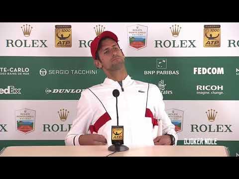 Novak Djokovic - Vajda knows me better than any coach - MC 2018 (HD)
