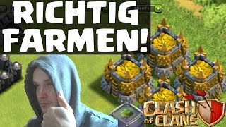 getlinkyoutube.com-RICHTIG FARMEN - TIPPS & TRICKS || CLASH OF CLANS || Let's Play COC [Deutsch/German HD]