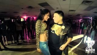 getlinkyoutube.com-Desiree + Emerson Social Dance // Bachata Masters Aug 2015
