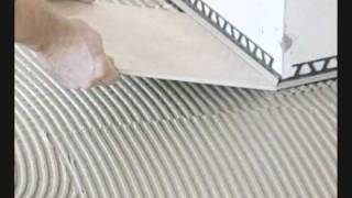getlinkyoutube.com-Fliesen Herget Produktinformation - Schlüter Ditra Entkopplungsmatte
