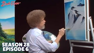 getlinkyoutube.com-Bob Ross - Glacier Lake (Season 28 Episode 6)