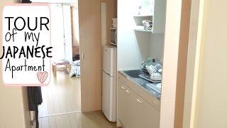 getlinkyoutube.com-Tour of My Japanese Apartment 2015-16!!! 日本のアパートのツアー