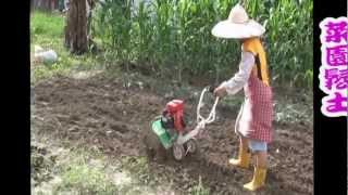 getlinkyoutube.com-2012變形小金剛農機展介紹 (擎億機械 CHING YEE MACHINERY CO., LTD.) Cultivator 농업 기계 中耕機