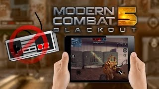 Modern Combat 5: I Don't Play With Controllers (Handheld Gameplay)