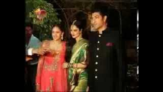getlinkyoutube.com-Amitabh, Shah Rukh, Deepika, & others Wedding Reception party of Ahana Deol & Vaibhav Vohra-2
