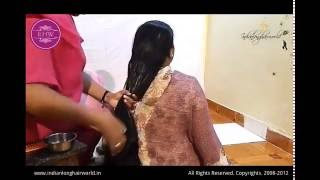 getlinkyoutube.com-Heavy Oiling & Hair Massage by Her Sister ( Thigh Length Hair)