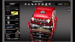 getlinkyoutube.com-Euro Truck Simulator 2 Scania Streamline Tuning Mod